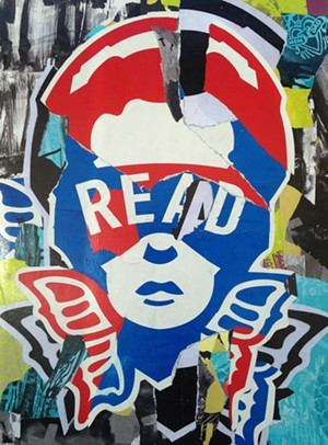 "COURTESY OF THE ARTIST - ""Read"" by Jay Girioux"