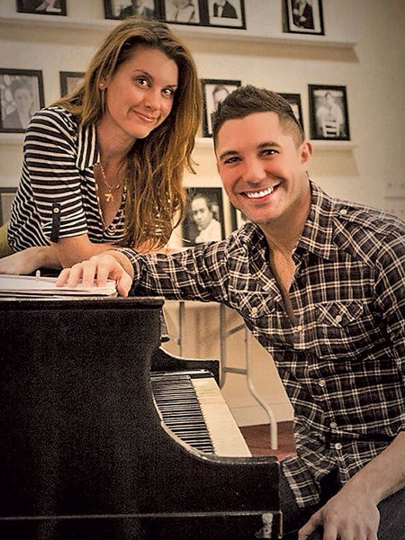 Rebekah Melocik and Jacob Yandura - COURTESY OF NORTHERN STAGE