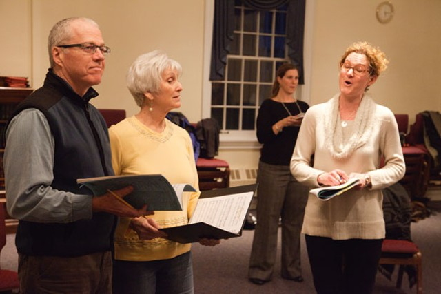 Rehearsal for Dido and Aeneas - MATTHEW THORSEN