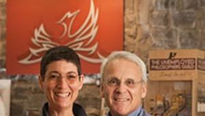 Renée Reiner and Michael DeSanto, co-owners of Phoenix Books