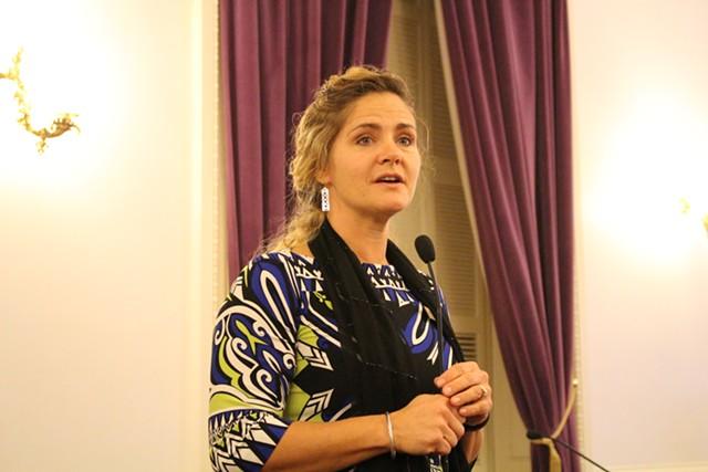 Rep. Sarah Copeland Hanzas - PAUL HEINTZ