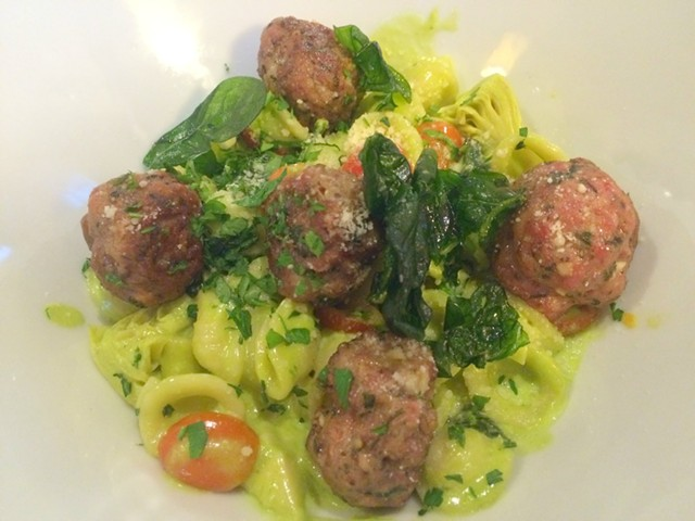 Local Pork Meatballs - ALICE LEVITT