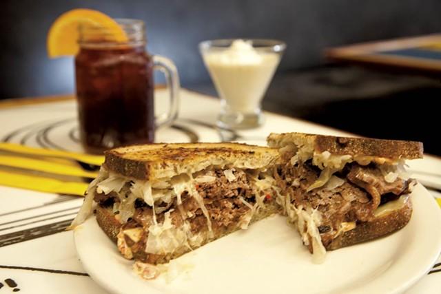 Reuben sandwich - MATTHEW THORSEN