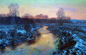 """COURTESY OF SVAC - """"River of Fire and Ice"""" by Gerard Natale"""