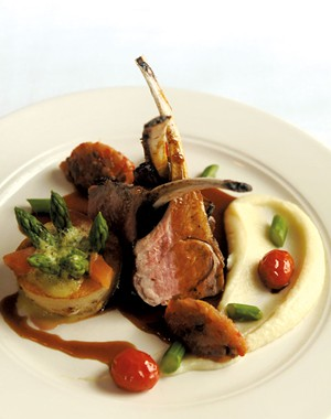 Roasted rack of lamb - SARAH PRIESTAP