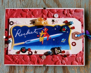 "COURTESY OF VINTAGE INSPIRED LIFESTYLE MARKETPLACE - ""Rocket Love"" by Megan J. Humphrey"