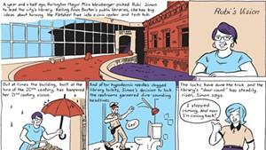 Rubi Simon Has a Vision for Burlington's Library