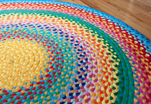 COURTESY OF ONE ARTS CENTER - Rug by Ruth Shafer