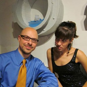 Ryan Kriger and Carmen Lagala