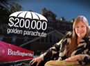 "Sanders Nemesis to Air TV Ad Bashing Wife's ""Golden Parachute"""