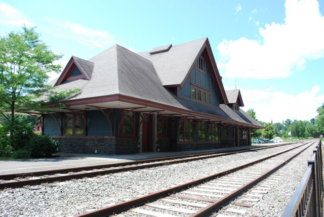 Saranac Lake Union Depot, built in 1904