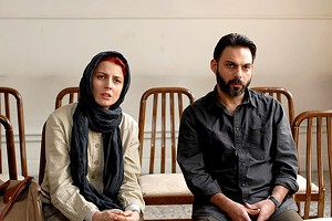 SCENES FROM A MARRIAGE Farhadi's Oscar-winning drama portrays an Iranian couple pulled apart by debatably insurmountable forces.