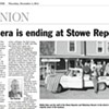 Media Note: Publisher to Sell <i>Stowe Reporter</i>, <i>Waterbury Record</i>