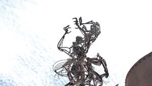 Sculpture by Tyler Vendituoli