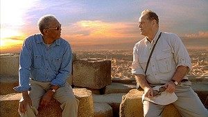 SENIOR YEAR Freeman and Nicholson play cancer patients given just 12 months to live in the latest from Rob Reiner.
