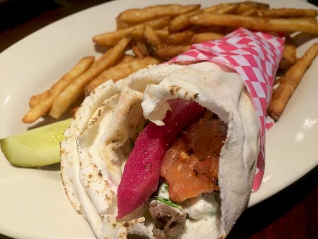 Shawarma wrap - ALICE LEVITT