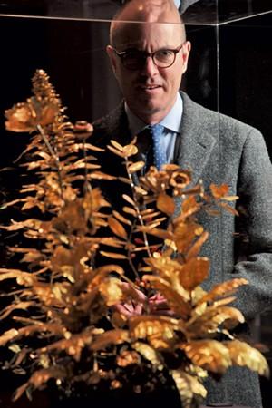 Shelburne Museum director Thomas Denenberg - MATTHEW THORSEN
