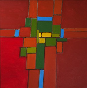 """COURTESY OF GALLERYSIX - """"Siena II"""" by Ray Brown"""