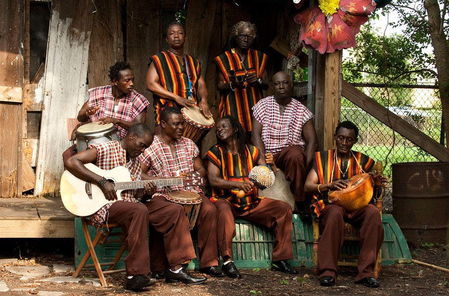 Sierra Leone's Refugee All Stars - COURTESY OF SIERRA LEONE'S REFUGEE ALL STARS