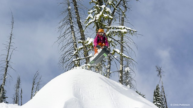 Sierra Quitiquit skiing in Montana (in No Turning Back) - CHRIS PATTERSON | WARREN MILLER ENTERTAINMENT