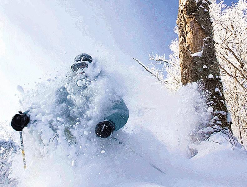 Skiing at Burke Mountain