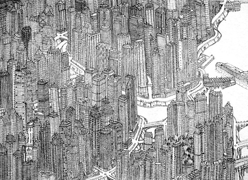 """""""Small City"""" by Xavier Donnelly"""