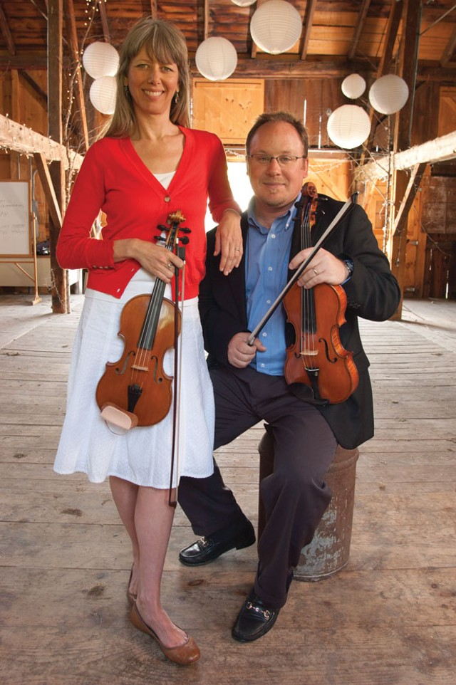 Sofia Hirsch and Michael Dabroski