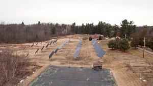 Solar-power installation