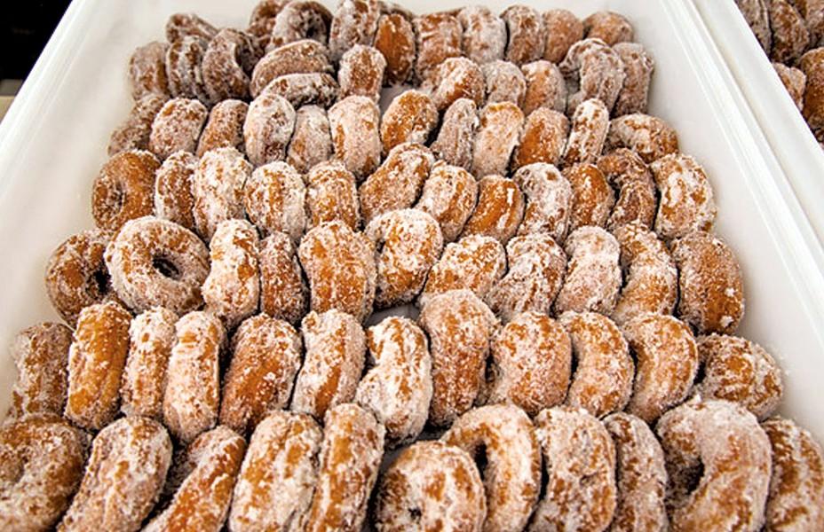 Squash doughnuts - COURTESY OF ROCKVILLE MARKET FARM