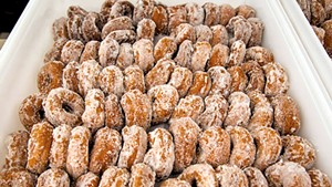 Squash doughnuts