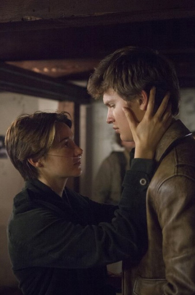 star-crossed Woodley and Elgort play a young couple fighting time in Boone's literary adaptation.