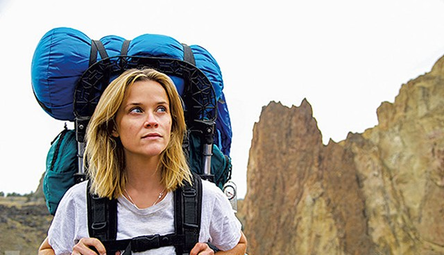 STAR TREK: Witherspoon plays Cheryl Strayed, who wrote a memoir about ruining her life and then going for a really long walk.