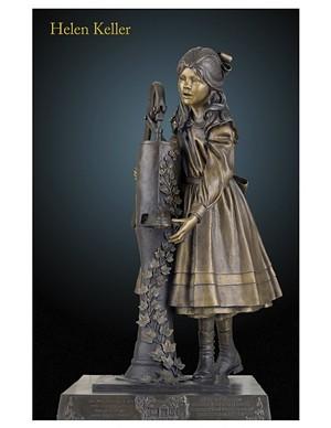 COURTESY OF JUSTIN MORRILL HOMESTEAD - Statue of Helen Keller