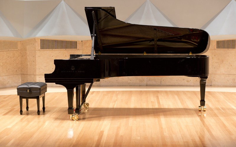 Steinway concert grand - COURTESY OF MIDDLEBURY COLLEGE