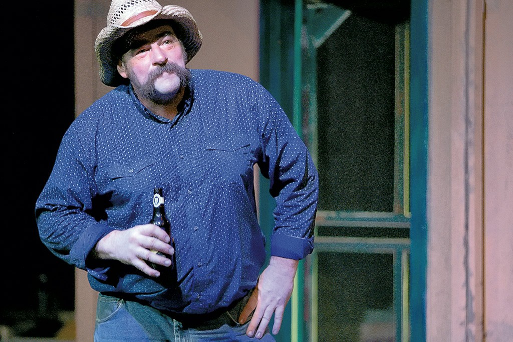 Steve Small - COURTESY OF THE MIDDLEBURY ACTORS WORKSHOP