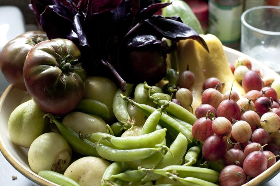 Still life with salad potential - HANNAH PALMER EGAN
