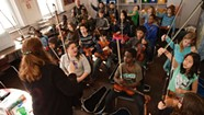 At the Integrated Arts Academy, a Pilot Program Puts Violins in Students' Hands