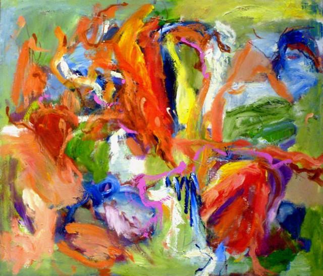 """Summer Blooms"" by Harriet Wood"