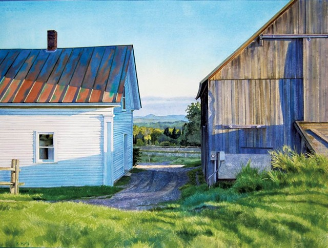 """Sunside, Early Morning"" by Kathleen Kolb"