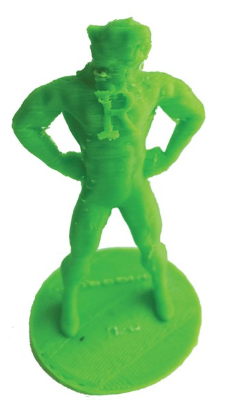 """Super-Rufus"" action figure"