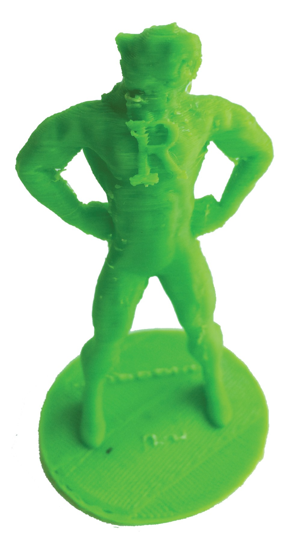 """""""Super-Rufus"""" action figure"""