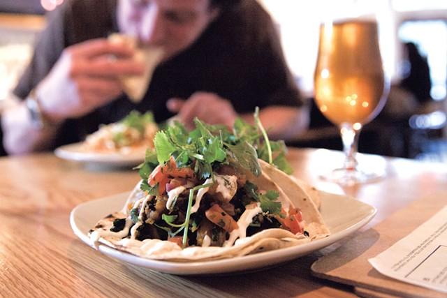 Tacos at Mule Bar - MATTHEW THORSEN