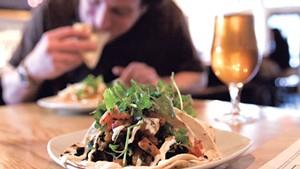 Tacos at Mule Bar
