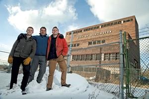 Tad Cooke, Charlie Tipper and Erick Crockenberg - MATTHEW THORSEN
