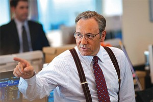 TAKING STOCK Spacey plays an investment banker torn  between company loyalty and personal ethics in J.C. Chandor's dramatic Wall Street indictment.