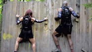 Testing Out a Spartan Training Ground at an Obstacle-Course Wedding