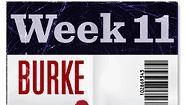 The 20/20 Challenge: Burke (Week #11)