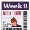 The 20/20 Challenge: Mount Snow (Week #9)