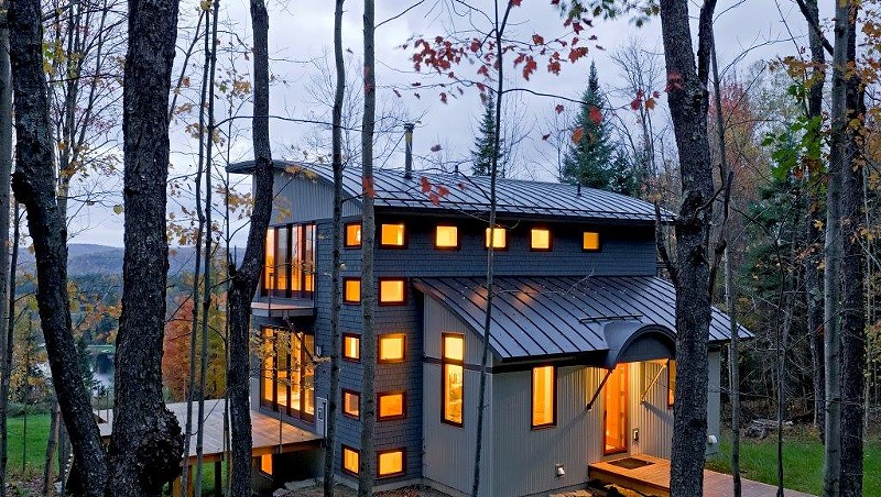 The 2013 People's Choice Award winner, a house in Sugarhill, N.H., by Smith and Vansant Architects of Norwich