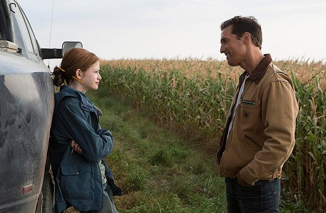 THE ASTRONAUT FARMER: There's plenty of corn on hand when Nolan sends McConaughey into space, but also plenty of wonder.